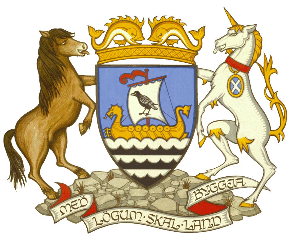 Shetland Islands Council crest